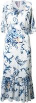 Antonio Marras dropped waist dress - women - Polyester/Spandex/Elastane/Viscose - 44