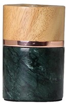 Threshold Green Marble & Wood Edison Table Lamp (Includes CFL Bulb