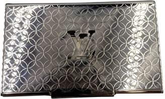 Louis Vuitton Silver Synthetic Purses, wallets & cases