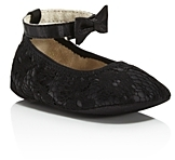 Stuart Weitzman Girls' Lace Ankle Strap Flats - Baby