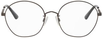 McQ Gunmetal Round Glasses