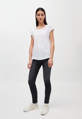Armedangels Laale Plain White Organic Cotton T Shirt - XL / Blanc