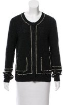 Tory Burch Pearl-Accented Cardigan