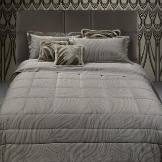 Roberto Cavalli Macro Zebrage Bed Set - Sand - Super King
