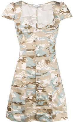 Miaou printed Gigi mini dress