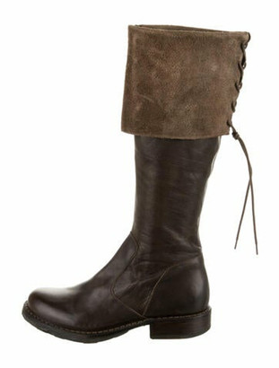 Fiorentini+Baker Leather Riding Boots Brown