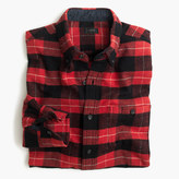 J.Crew Cotton-wool elbow-patch shirt in red-and-black plaid