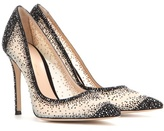 Gianvito Rossi Crystal Embellished Pumps