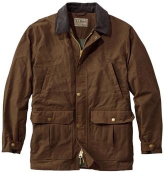 L.L. Bean L.L.Bean Double L Waxed-Cotton Upland Coat