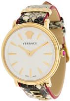 Versace V-circle Love Manifesto watch