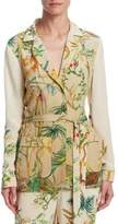 Alberta Ferretti Silk PJ Jacket