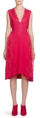 Givenchy Lace V-Neck Dress