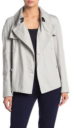 Jarbo Cropped Trench Jacket