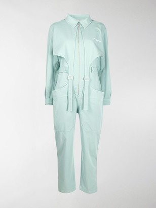 Stella McCartney Paloma buckle-strap jumpsuit