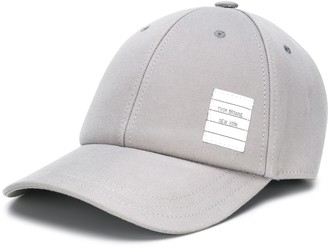 Thom Browne Twill 6-Panel Baseball Cap