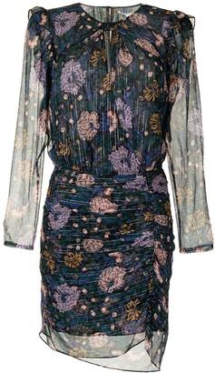 Veronica Beard Peppa floral mini dress