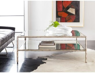 Modern History Organic Coffee Table Home Table Base Color: Antique Aluminum