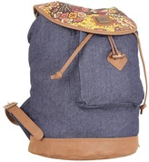 Obey Dahlia Rucksack (Vintage Paisley) - Bags and Luggage