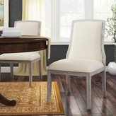 Bernhardt Criteria Upholstered Side Chair in Off White