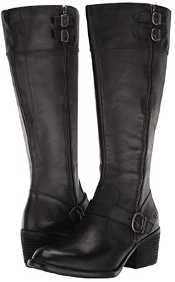Børn Swann (Black Full Grain Leather) Women's Boots