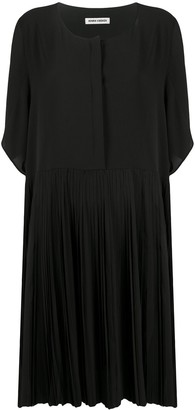 Henrik Vibskov Loose Fit Pleated Panel Dress