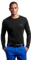 HUGO BOSS BOSS Green Men's Togn Modern Fit Single Jersey Long Sleeve T-Shirt