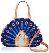 DARLING'S Peacock Fashion Design Handbag Shoulder Bag