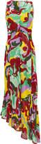 La DoubleJ Pina Abstract Midi Dress