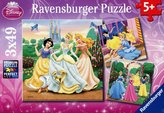 Ravensburger Disney Princess Jigsaw Puzzle 3 Pack (49 Pieces Each)