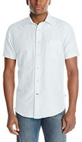 Nautica Men's Short Sleeve Solid Shirt