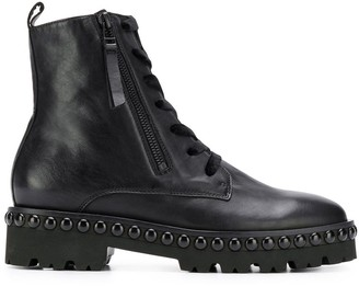 Kennel + Schmenger Lace-Up Ankle Boots