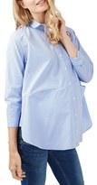 Topshop Jet Stripe Maternity Shirt