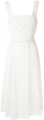 Alcaçuz Mistico tied dress