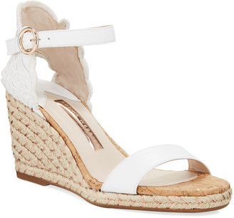 Sophia Webster Cassia Mid Wedge Espadrilles