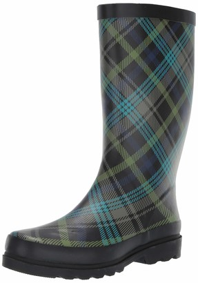 Sugar Women's Raffle Printed Rain Boot