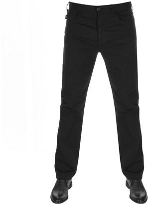 Giorgio Armani Emporio J21 Regular Fit Stretch Jeans Black
