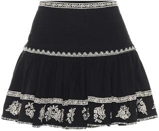 Etoile Isabel Marant Russel cotton miniskirt