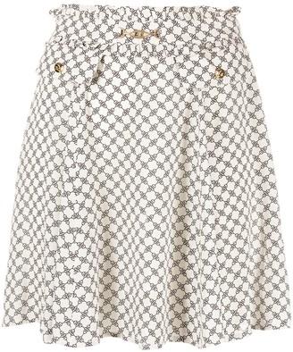 Elisabetta Franchi high-waisted A-line skirt