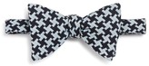 Turnbull & Asser Houndstooth Self-Tie Bow Tie
