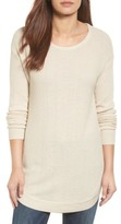 Caslon Women's Texture Knit Tunic