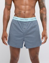 Calvin Klein Woven Boxers In Slim Fit