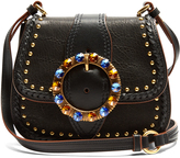 Miu Miu Dalia embellished leather cross-body bag