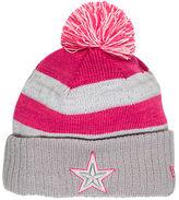 Nike Women's New Era Dallas Cowboys NFL 2016 Breast Cancer Awareness Sport Knit Hat
