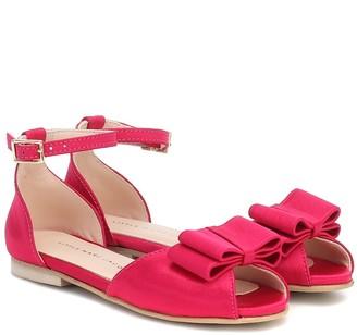 Little Marc Jacobs Satin sandals