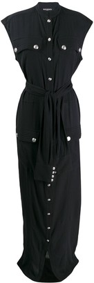 Balmain Tie-Waist Dress