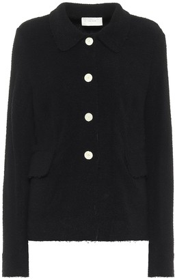 The Row Annica boucle-jersey jacket