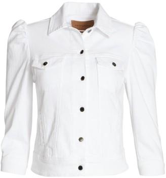 retrofete Ada Puff-Sleeve Denim Jacket