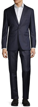 Burberry Standard-Fit Striped Wool Suit