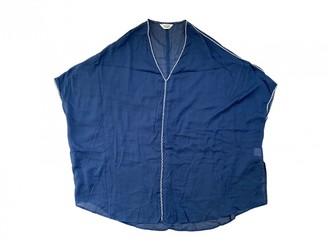 Toast Blue Cotton Swimwear