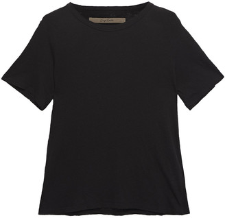 Enza Costa Slub Cotton-blend Jersey T-shirt